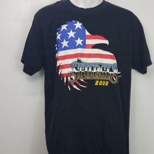 Mens Sturgis 2000 tshirt Black Hills Thunder sz L